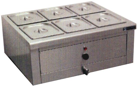 Μοντέλο 01: έως 1 λεκανάκι  1/1 GN και τις υποδιαιρέσεις του.